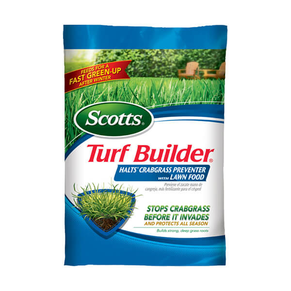 Bog of scotts crabgrass preventer with lawn food