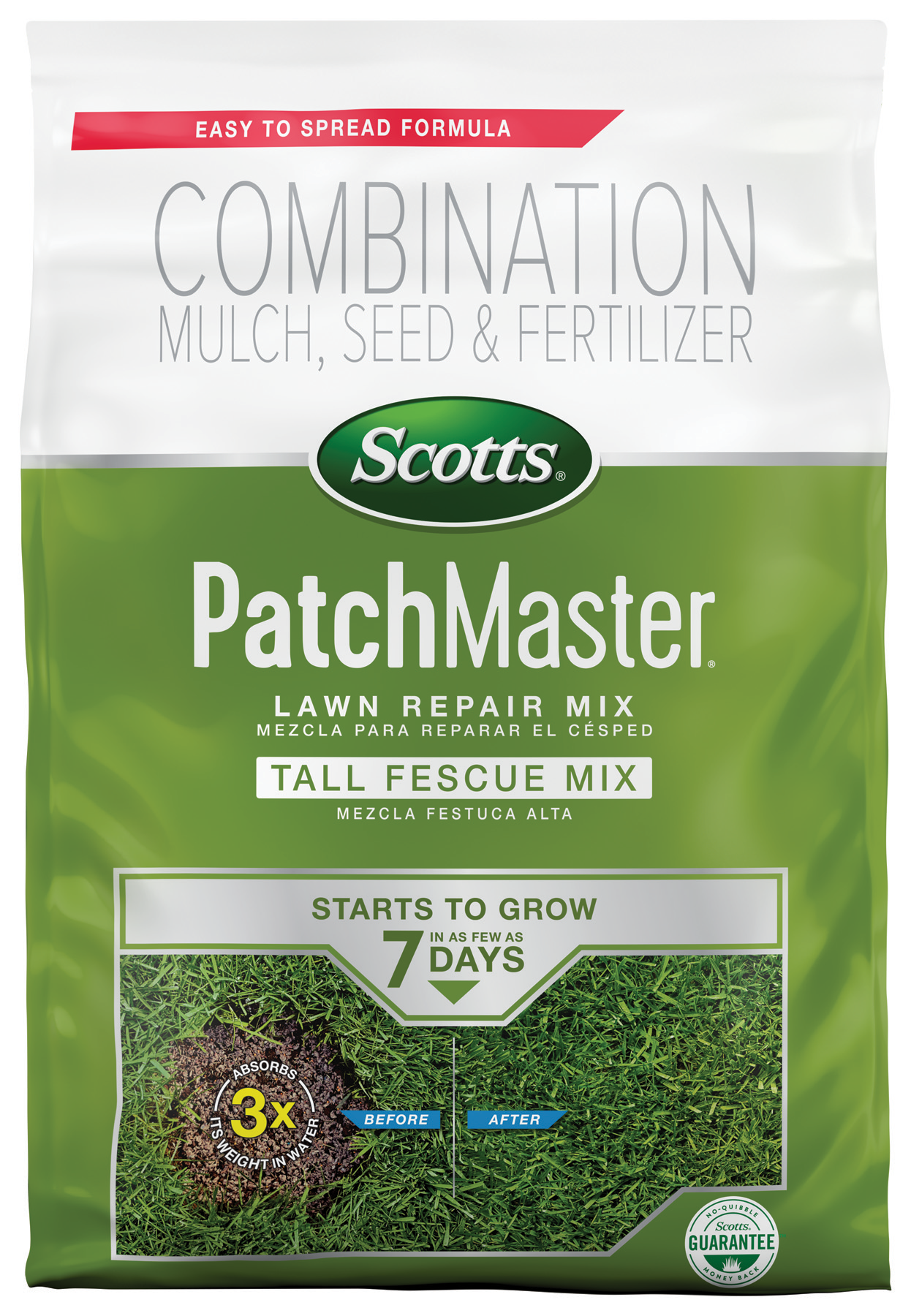 Scotts Patchmaster Lawn Repair Mix Tall Fescue Mix Scotts
