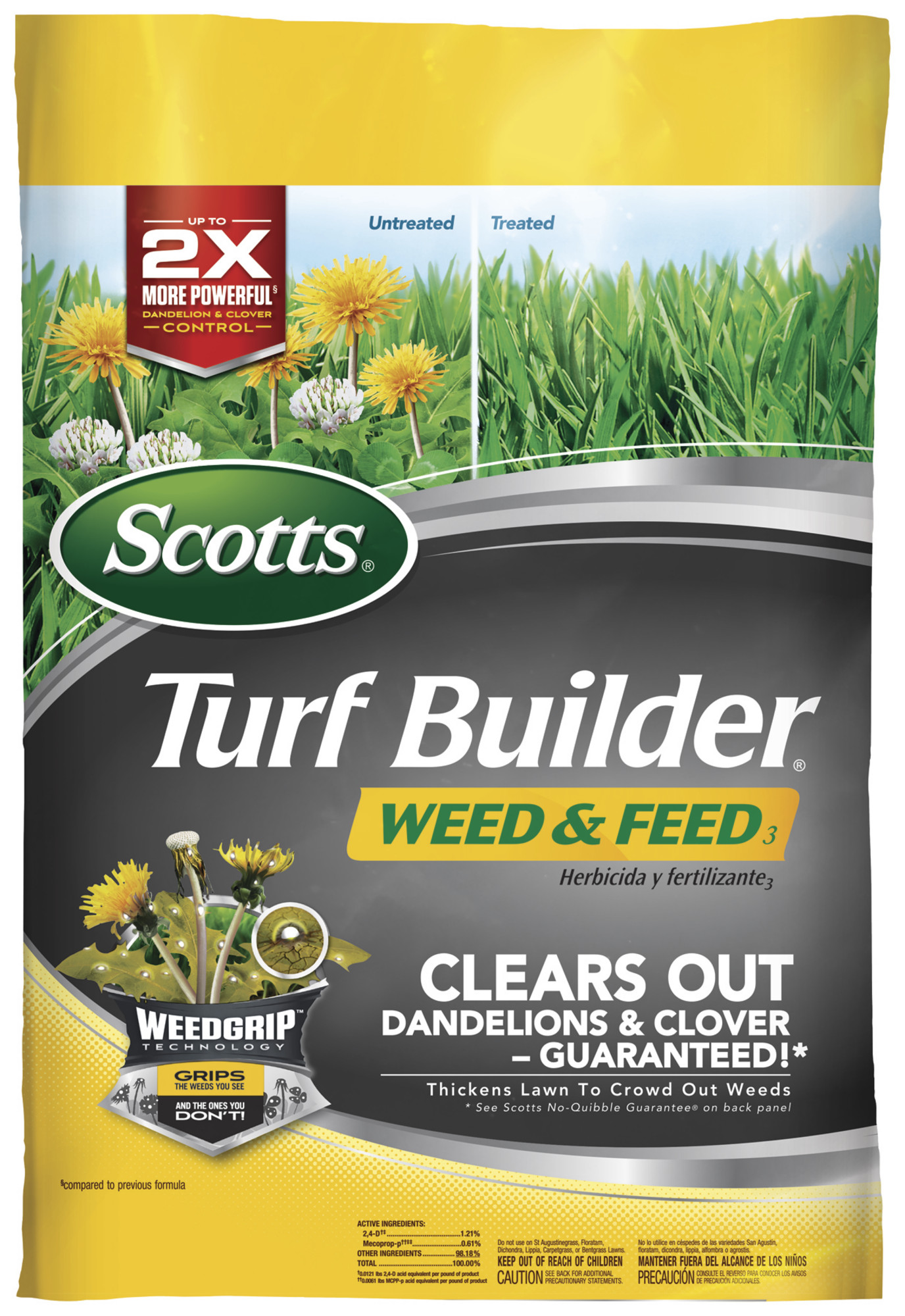Scotts turf builder weed and feed lawn fertilizer lawn for How to find a builder