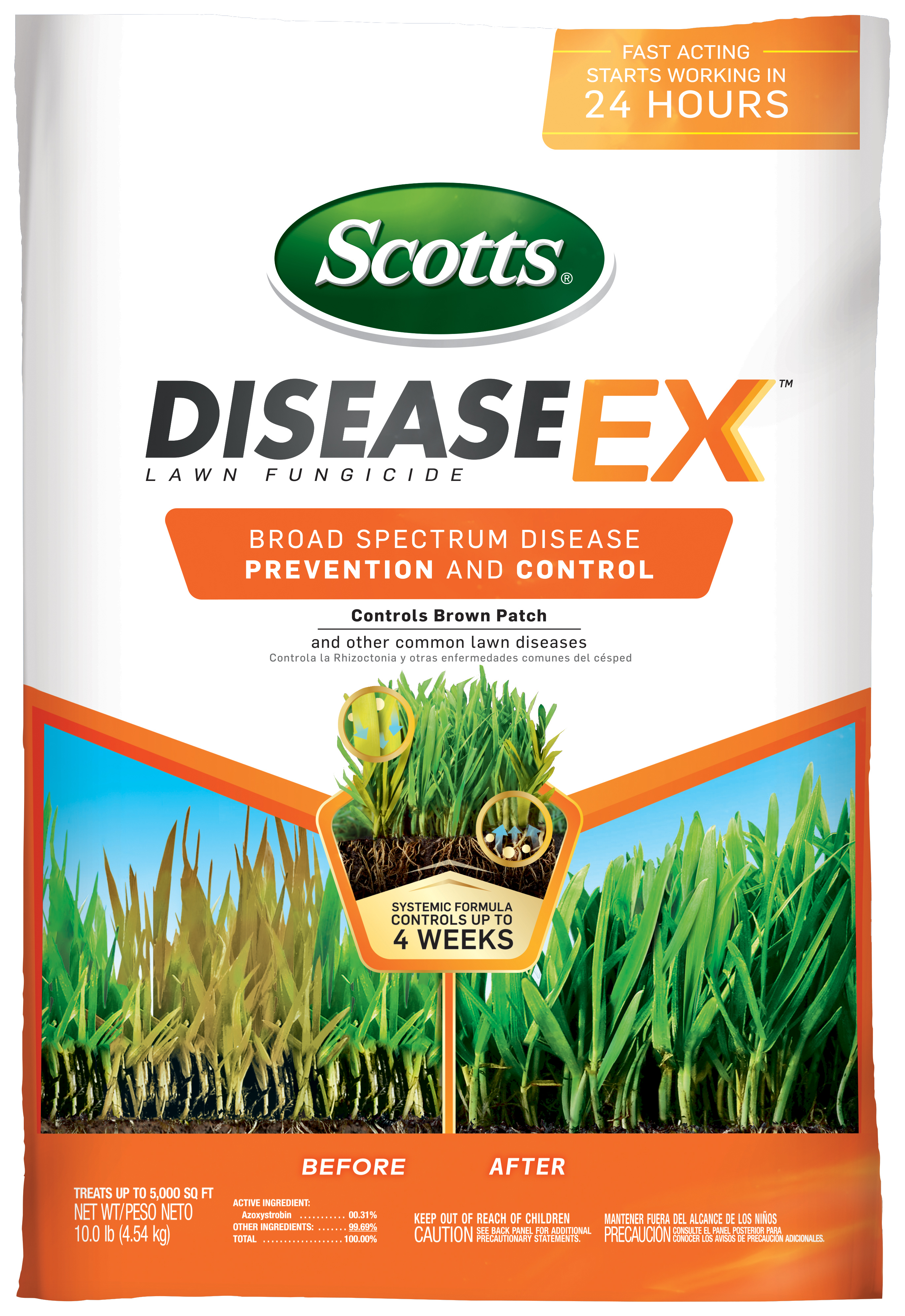 Scotts® DiseaseExTM Lawn Fungicide
