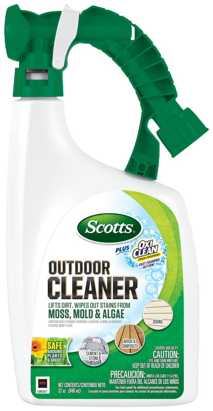 Scotts Outdoor Cleaner Plus Oxiclean Ready To Spray