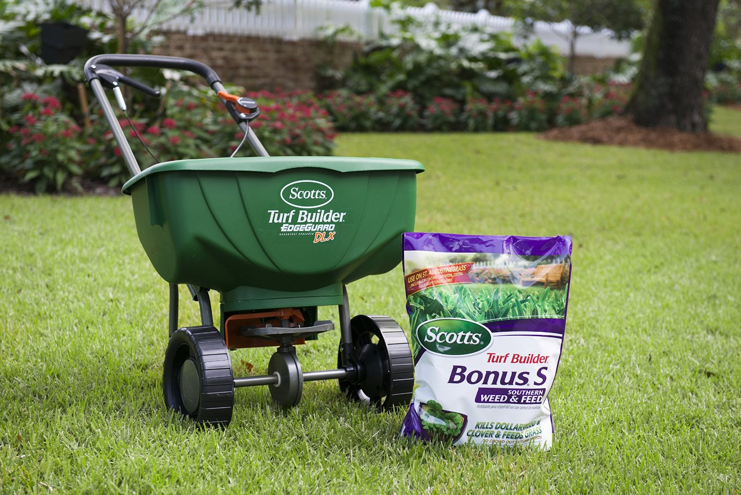 Scotts Turf Builder Bonus S Southern Weed And Feed Lawn