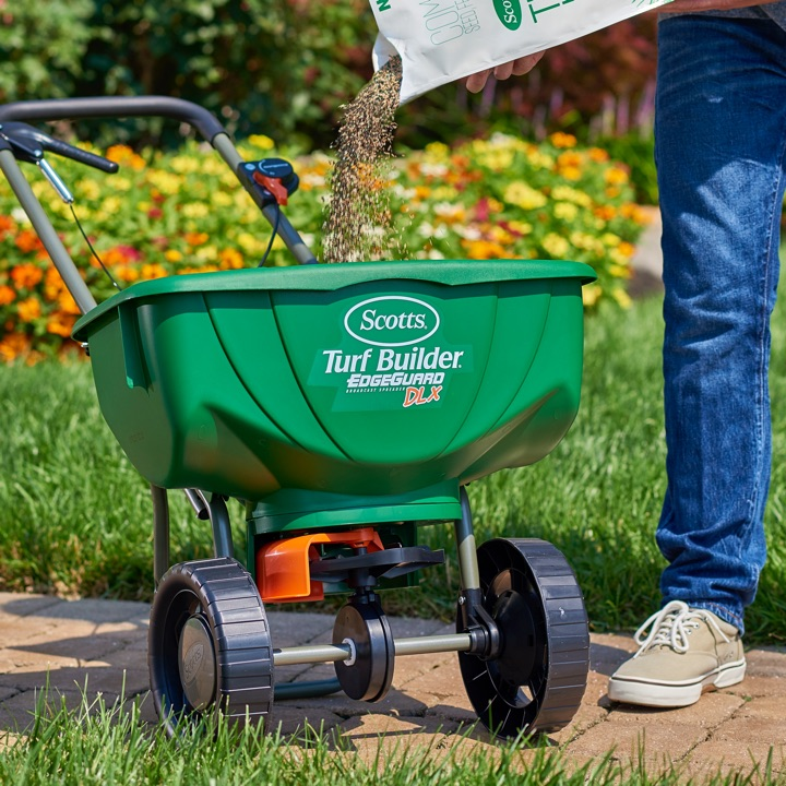 Precision Broadcast Spreader Settings : Which spreader is best for your yard scotts