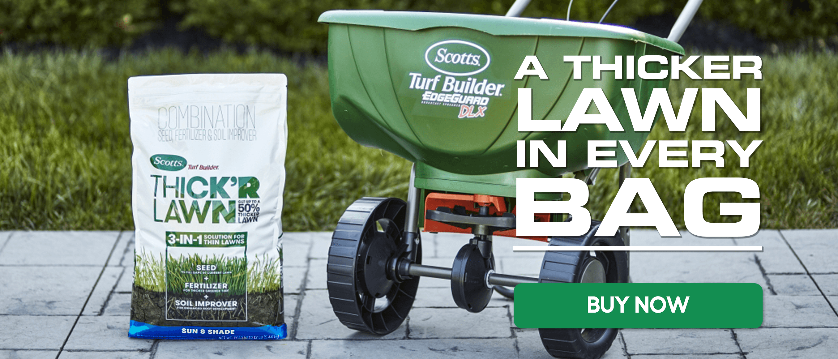 A Thicker Lawn in Every Bag - Thick 'R Lawn - Buy Now