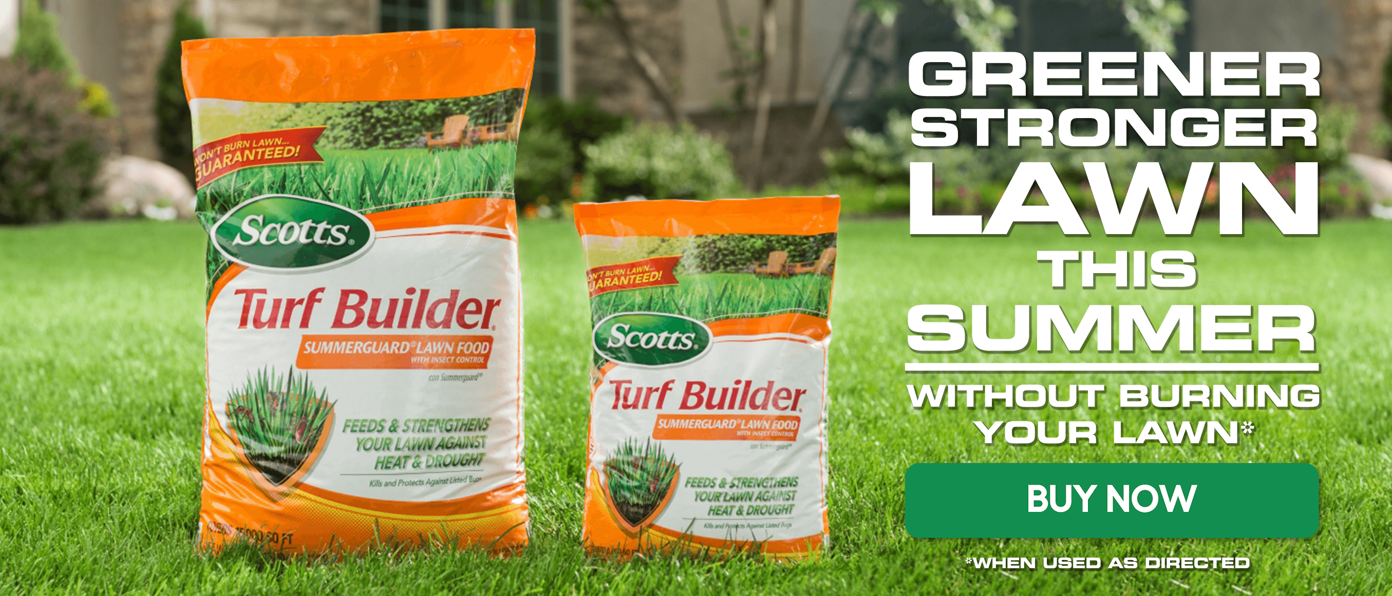 Summerguard - Greener Stronger Lawn This Summer Without Burning Your Lawn - Buy Now