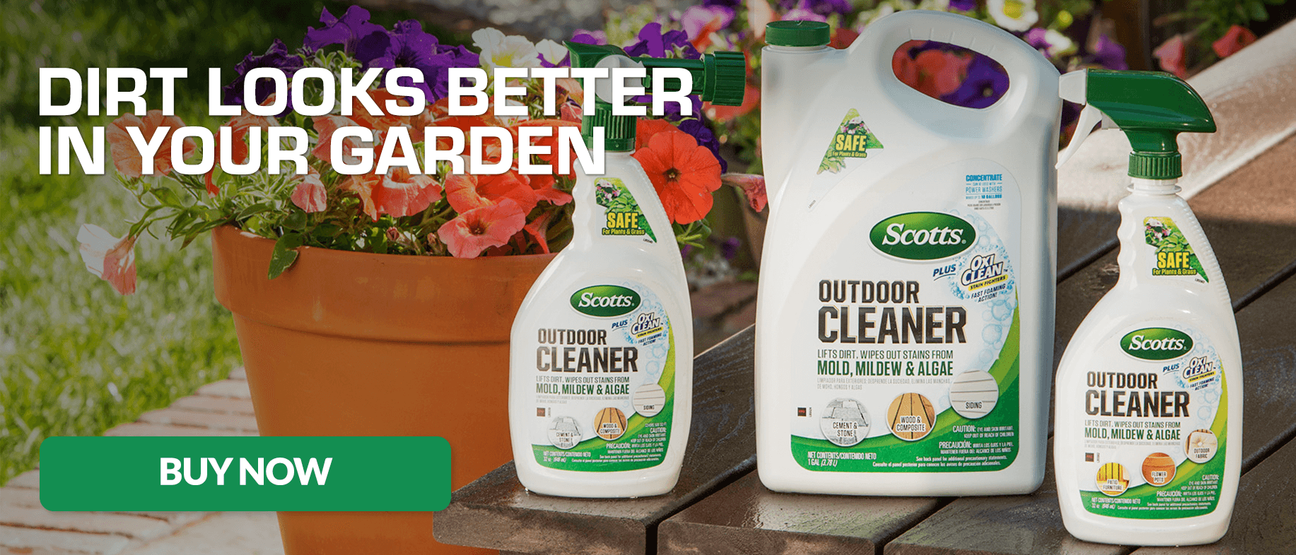 Dirt Looks Better In Your Garden