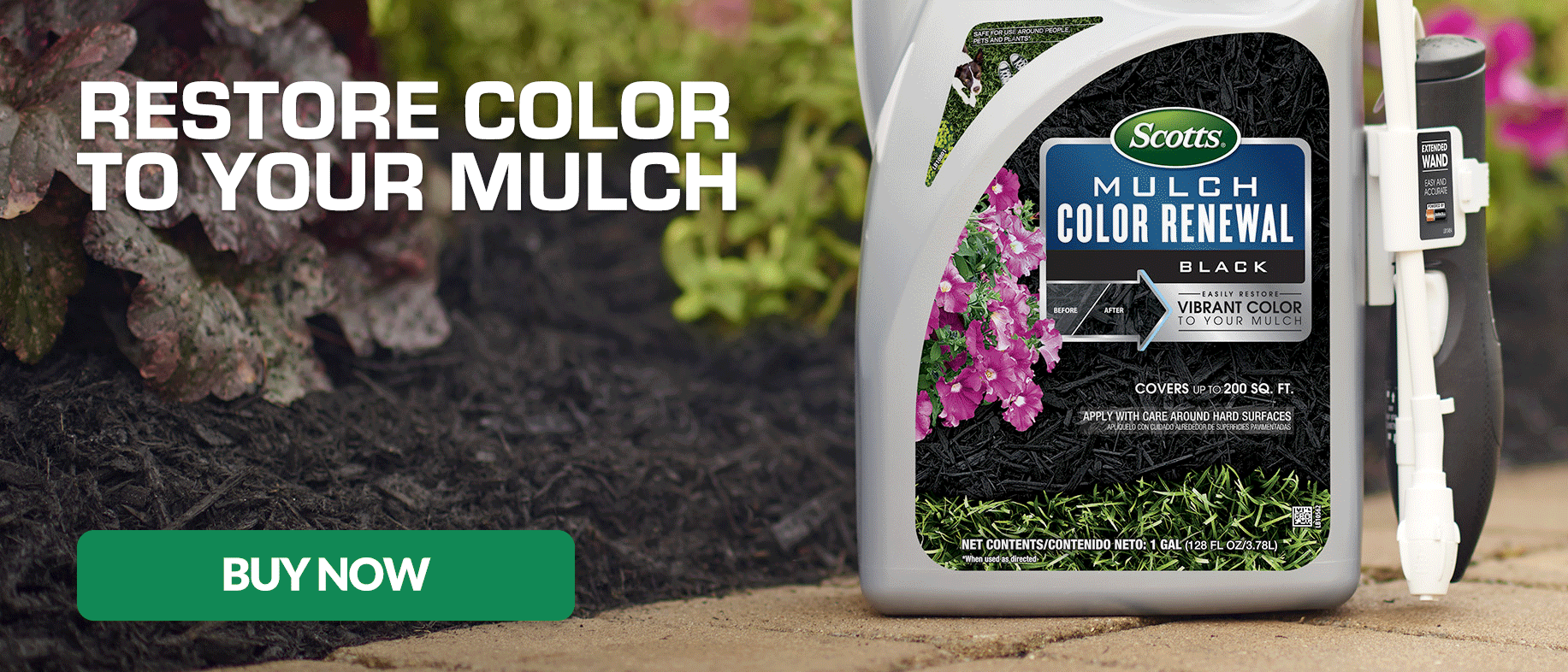Restore Color to Your Mulch