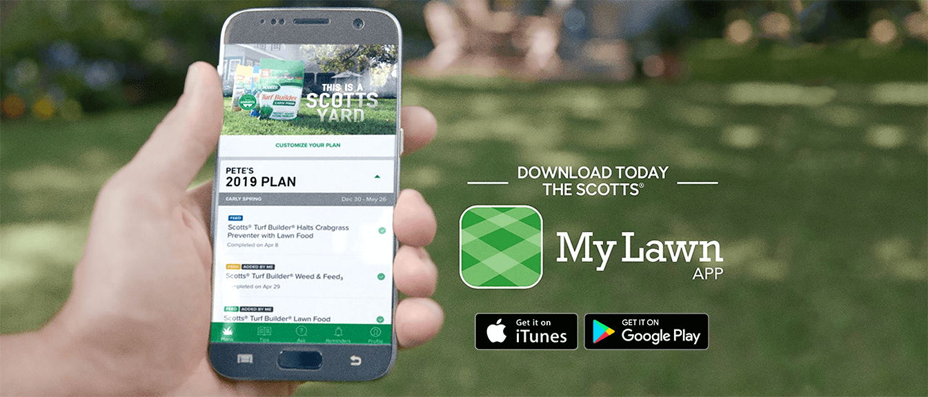 Get the MyLawn App on iTunes or Google Play