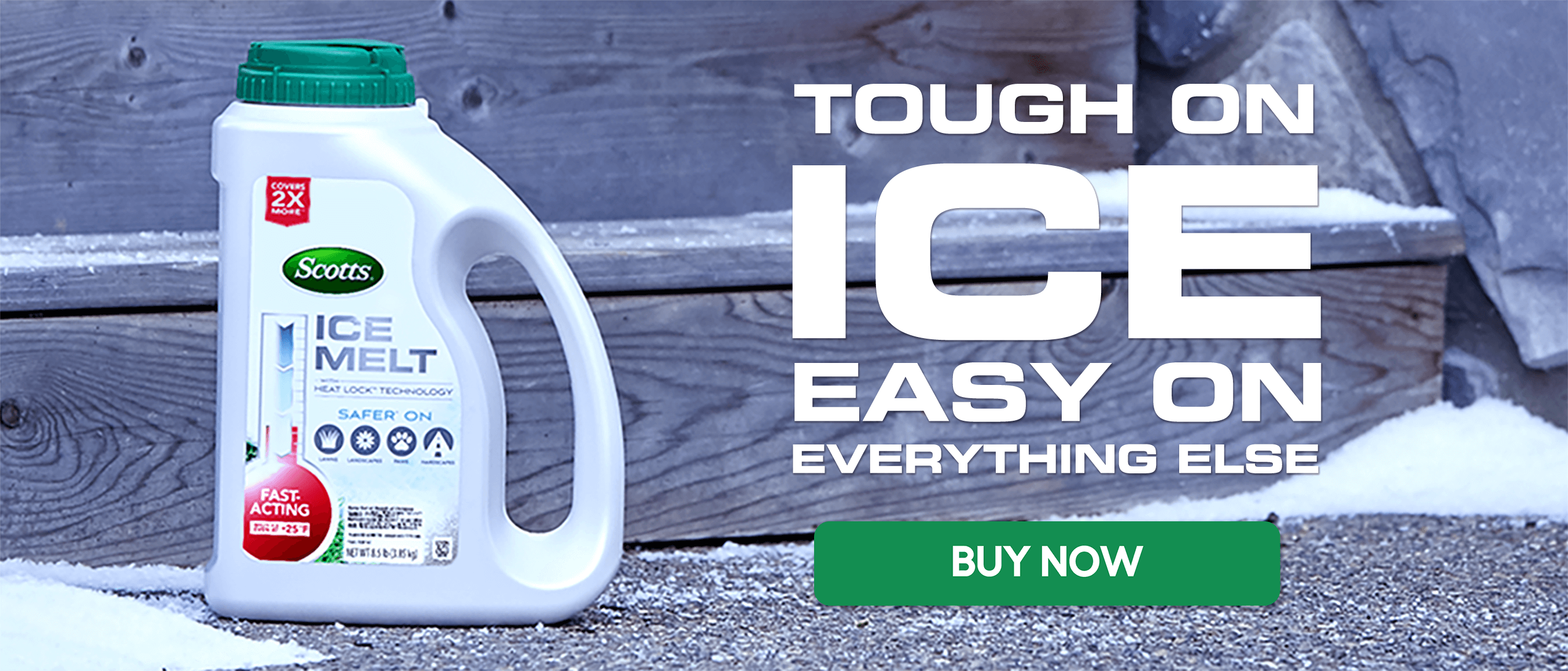 Scotts Ice Melt - Tough on Ice, Easy on Everything Else - Buy Now
