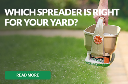 Which Spreader is Right for Your Yard?