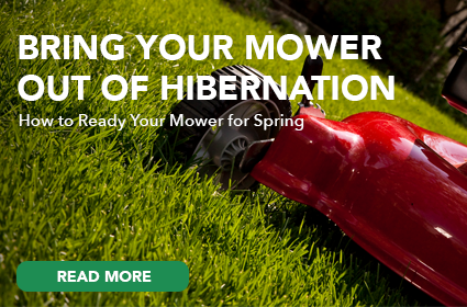 Bring Your Mower Out of Hibernation