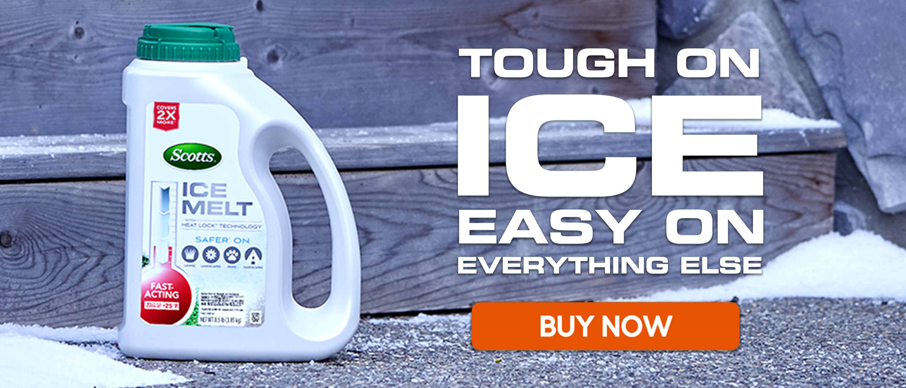 Tough on Ice, Easy on Everything Else