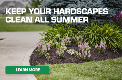 Keep Your Hardscapes Clean All Summer