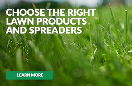 Choose the Right Lawn Products and Spreader