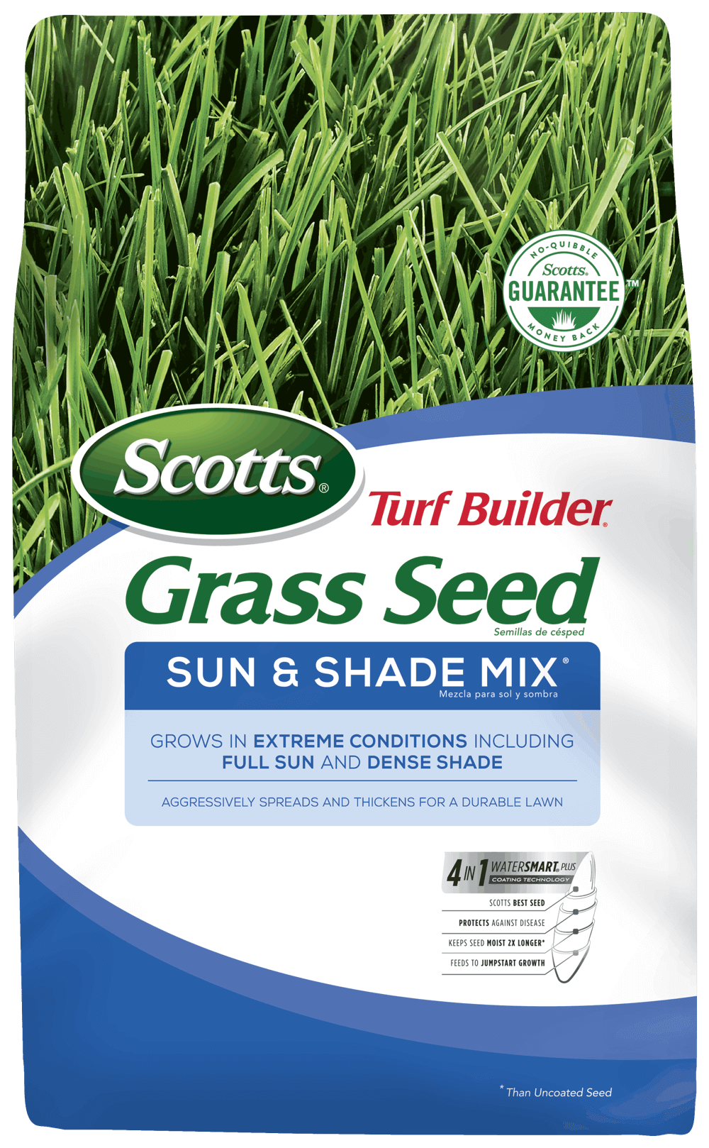 Scotts Turf Builder Grass Seed Sun And Shade Mix Grass Seed Scotts