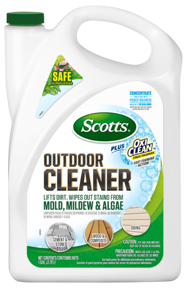 Scotts Outdoor Cleaner Plus OxiClean Outdoor Cleaners Scotts