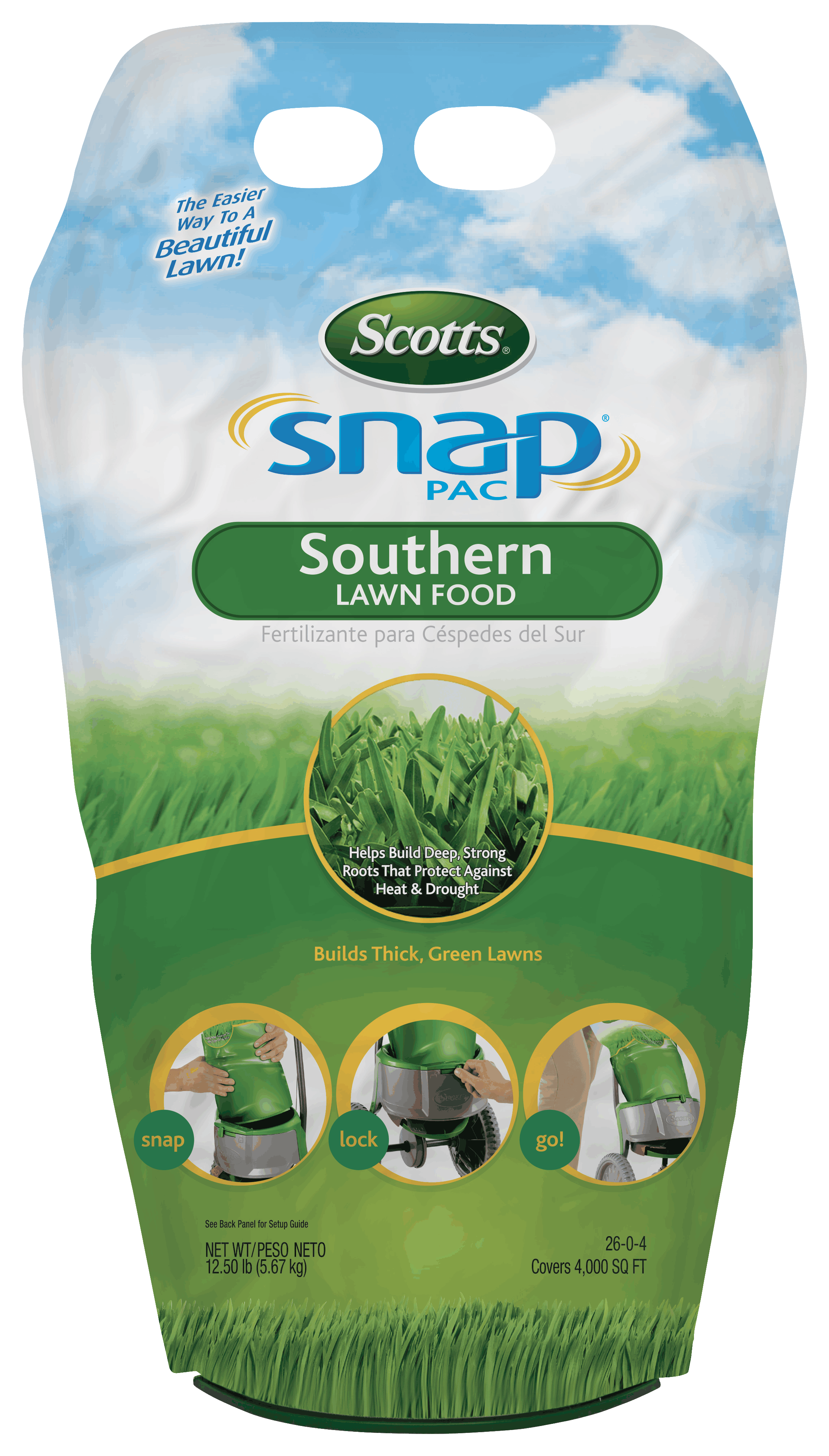 Scotts Snap Pac Southern Lawn Food Snap System Scotts