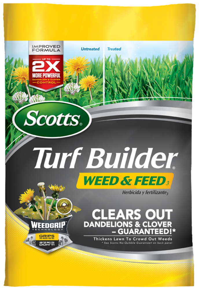 Scotts Turf Builder Weed And Feed Lawn Fertilizer Lawn