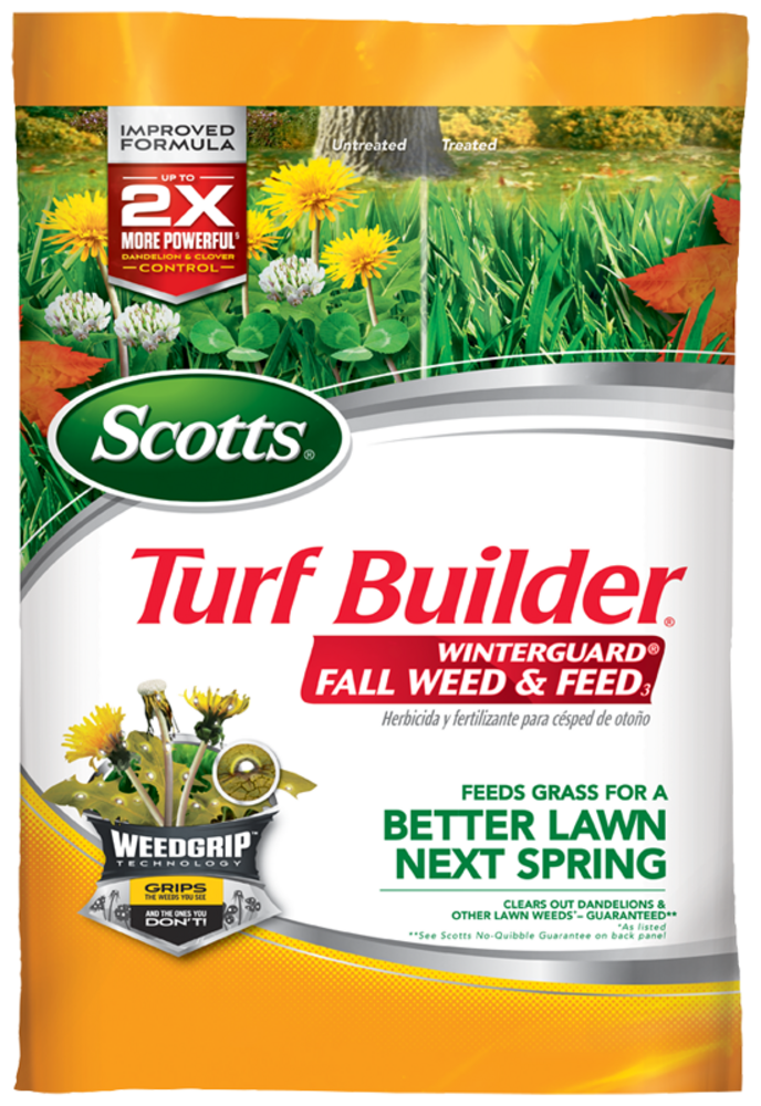 Scotts Turf Builder Winterguard Fall Weed And Feed Lawn Care Scotts