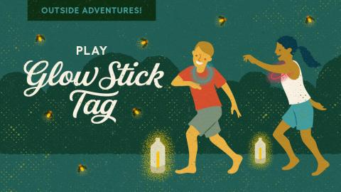 Play Glow Stick Tag