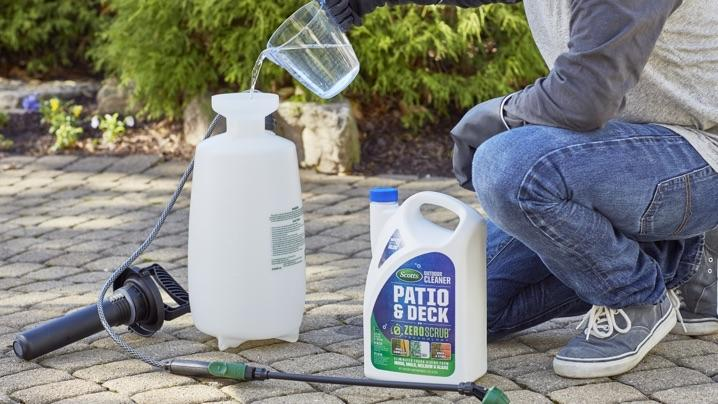 Scotts Outdoor Cleaner Deck & Patio with ZeroScrub Technology