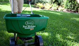 how  when to reseed lawn grass  lawn repair  scotts, Natural flower