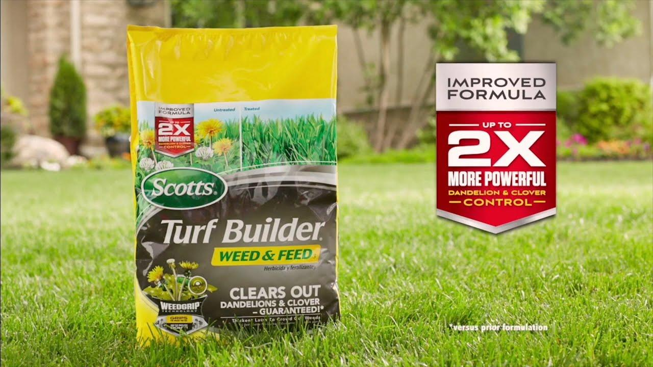 Scotts Turf Builder Weed And Feed Lawn