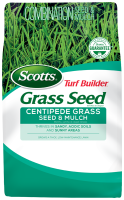 Scotts® Turf Builder® Grass Seed Centipede Grass Seed & Mulch