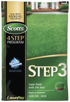 US Scotts Step 3 Lawn-Food With 2% iron