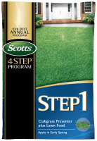 4 scotts step one program review 1 for seeding lawn food with weed.