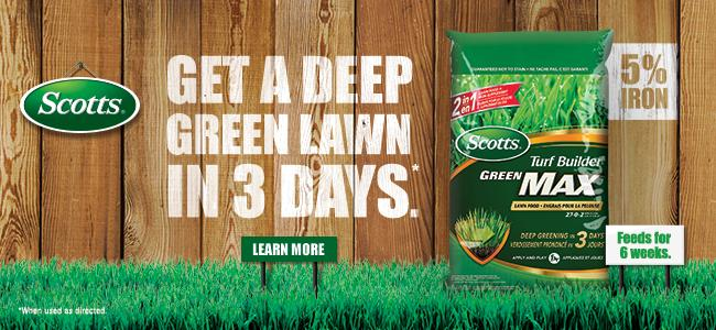 Scotts Canada Green Lawn Deep