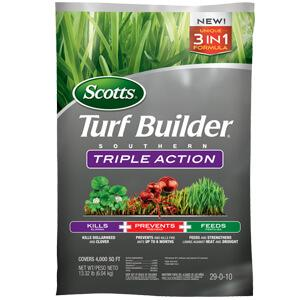 Image of a bag of scotts Triple action south