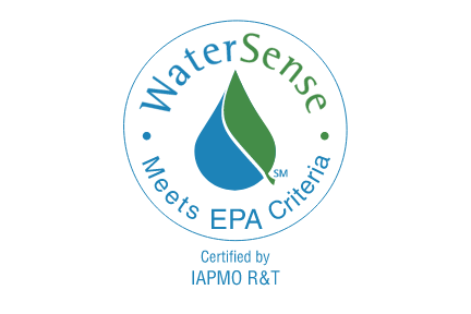 Blue and green WaterSense logo