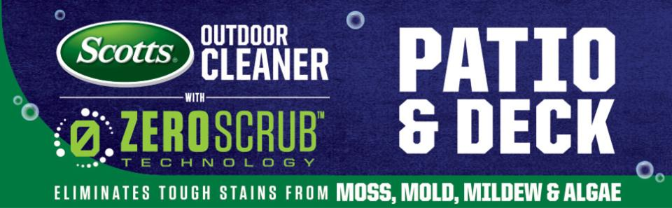 Scotts® Outdoor Cleaner Patio & Deck with ZeroScrub™ Technology Concentrate