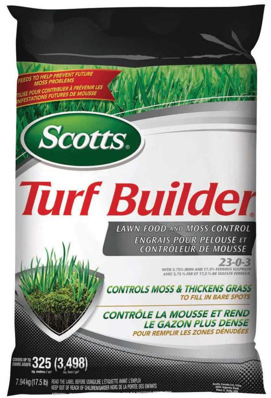 turfbuilder lawn food and moss control canada