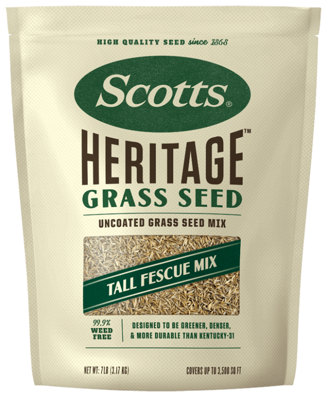 Bag of Scotts Heritage Grass Seed Tall Fescue Mix