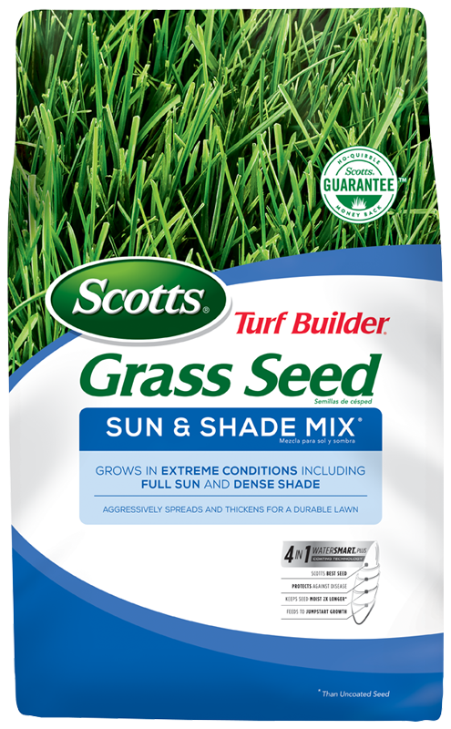 Scotts Turf Builder Gr Seed Sun Shade Mix