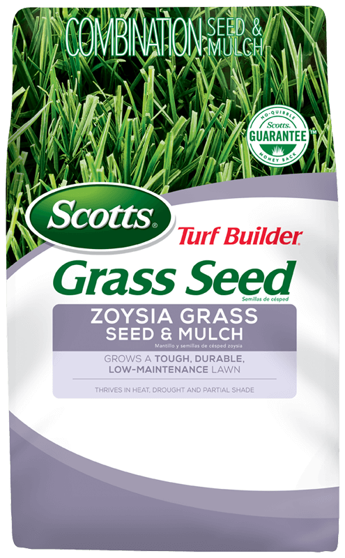 Bag of Scotts Turf Builder Grass Seed Zoysia Grass Seed & Mulch