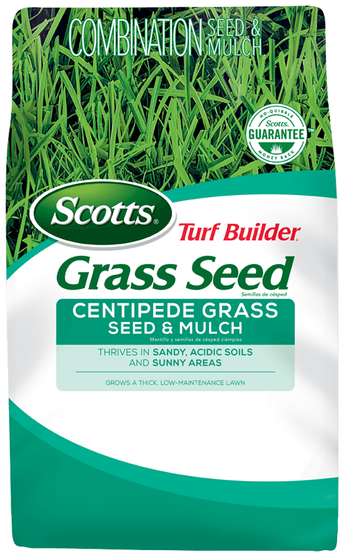 Bag of Scotts Turf Builder Grass Seed Centipede Grass Seed & Mulch