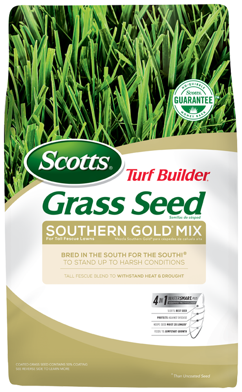 Scotts® Turf Builder® Grass Seed Southern Gold® Mix For Tall Fescue Lawns