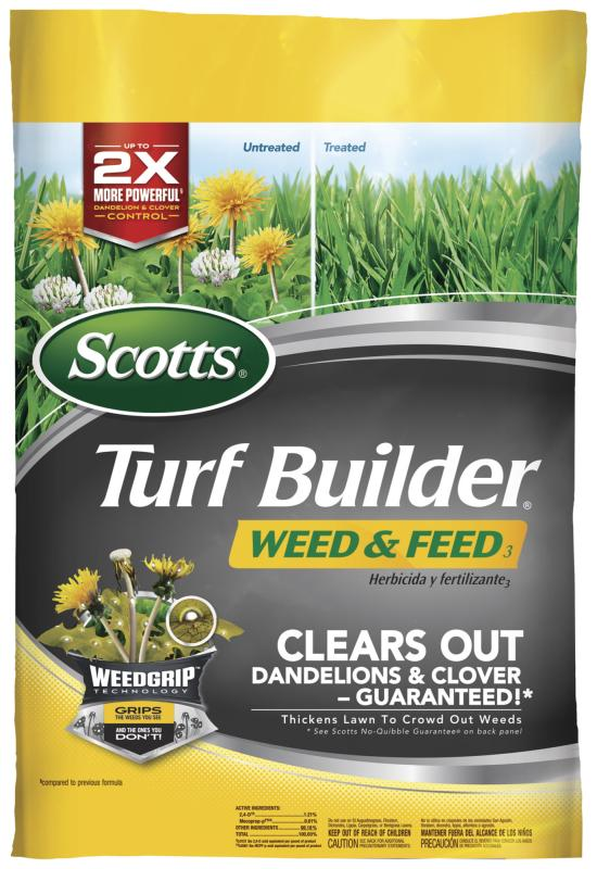 Scotts Turf Builder Weed Feed