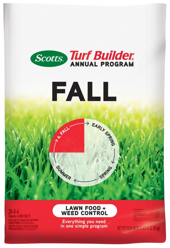 Scotts® Turf Builder® Annual Program Fall