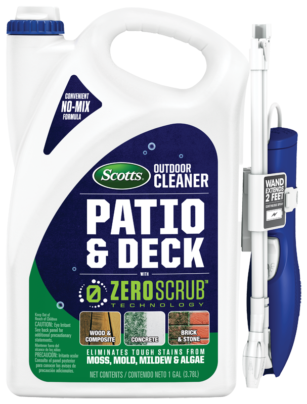 Scotts® Outdoor Cleaner Patio & Deck With ZeroScrub™ Technology