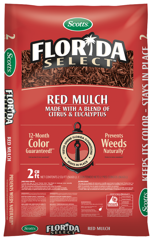 Scotts® Florida Select Mulch Red