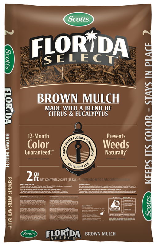 Scotts® Florida Select Mulch Brown
