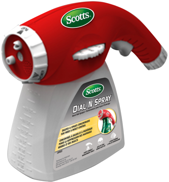 Scotts Dial And Spray Hose End Sprayer