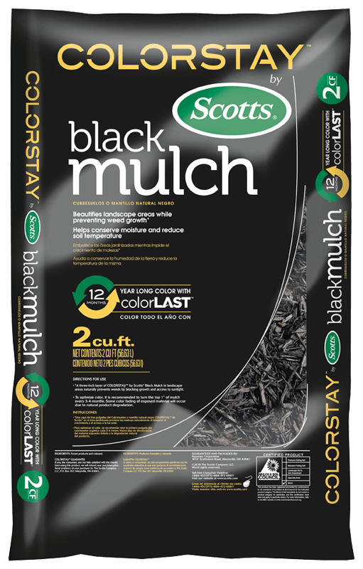 ColorStay Black Mulch bag