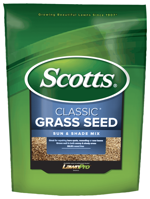 Bag of  Scotts® Classic® Grass Seed Sun & Shade Mix®