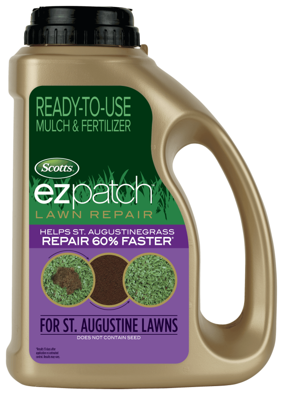 Package of Scotts EZ patch Lawn Repair For St. Augustine Lawns