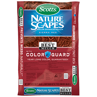 naturescapes red mulch
